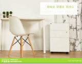 Armários de gavetas móveis de pedestal móvel de 3 gavetas Armários de gaveta de mesa