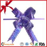 Arqueamiento del tirón de la mariposa de la cinta para el empaquetado del rectángulo de regalo