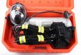 En137 certificado 6.8L de fibra de carbono de aire del cilindro aparato de respiración