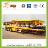 40feet 4axle Flatbed Semi Trailer