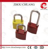 Da segurança colorida do revestimento do óxido de Zhouchuang cadeado de alumínio