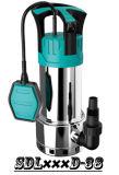 (SDL400D-31B) Edelstahl-preiswertester Preis-Garten-versenkbare Pumpe mit Niveauschalter für schmutziges Wasser