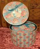 단단한 마분지 종이 선물 상자의 둘레에 주문을 받아서 만들어진 인쇄