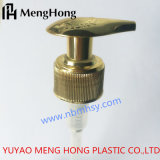 Pompe d'or de lotion pour la bouteille cosmétique