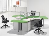 Freistehendes Office Workstation Glass Partition mit Mobile Pedestal (SZ-WST650)