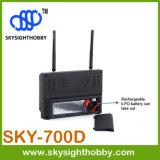 Monitor de la pulgada TFT Fpv del receptor de diversidad de Fpv 5.8g 32CH 7 con DVR Sky-700d