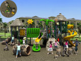 Im Freienspielplatz der Kaiqi mittelgrosser Waldthemenorientierten Kinder (KQ50011A)