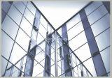 Mur rideau en verre de encadrement caché