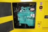 Stille Diesel Generator 50 KW met Multifunctioneel Controlebord