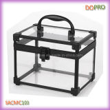 Transparent sveglio Small Vanity Beauty Boxes con Lock (SACMC103)