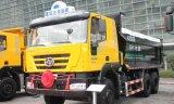 構築のトラックのダンプのダンプカー