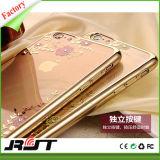 Caixa do telefone móvel do caso da impressão da flor do preço do competidor para iPhone6
