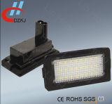 Lâmpada brilhante sem erros da matrícula do diodo emissor de luz do branco para BMW E38 95-01