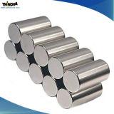 Starker magnetischer Zylinder NdFeB permanente Magneten mit Beschichtung Ni-Cu-Ni
