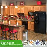 Gabinete de cozinha branco da U-Forma de Joenony