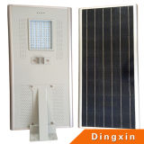 60W Integrated Solar LED Road Lamp con CE RoHS 100-110lm/W