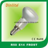 R50-E14 25W 40W 60Wの霜のRefelctorの球根