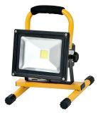 10W LED 재충전용 플러드 빛