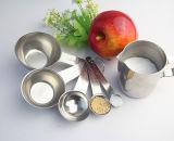5 PCSのステンレス鋼の測定スプーンの調理器具