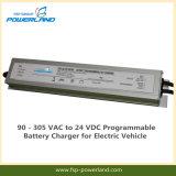 90 - 305 VACから電気手段のための24匹のVDCのプログラム可能な充電器