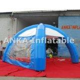 Tente extérieure gonflable d'araignée avec la couverture et les pattes pour la publicité