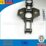 C2060HK1 Precision Double Pitch Conveyor Chain com Attachments
