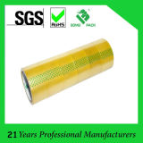 BOPP Yellowish Transparent Clear Adhesive Tapes (KD-624)