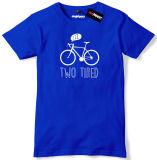 La vente en gros personnalisent le T-shirt court simple de chemise du Jersey (A045)