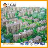 Модели выставки моделей места моделей селитебного здания/модель сбываний недвижимости