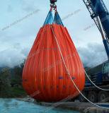 Sacos de água para o teste de carga dos turcos do guindaste