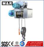 2 het Elektrische Hijstoestel van de Kabel van de Draad van de ton met Enige Snelheid