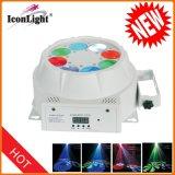 Neue 8-Augen-Disco-Licht mit Gobo oder Strahleneffekt