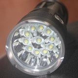 Lampe-torche imperméable à l'eau de l'aluminium DEL du mode 18650 de l'autodéfense 3 de torche de lampe-torche de la haute énergie 6000-18000lumen 3-11LED Xml T6 DEL