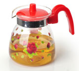 Sell caldo Glass Coffee Pot Tea Set con Decoration