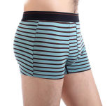 Menのための安いCustomize Personal Brand Logo Striped Men Boxers