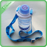 Clip를 가진 100% Eco-Friendly Polyester Material Bottle Holder Lanyard