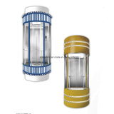 Maschine Roomless panoramisches Glashöhenruder