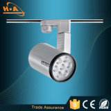 IP20 Ra80 고성능 12W LED 궤도 전등 설비