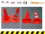 Cone padrão do tráfego de Europa do estilo europeu de Europa do PE do cone do tráfego