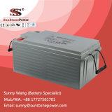Batería solar de plomo sin necesidad de mantenimiento sellada del inversor de 12V 200ah