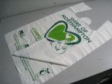 Progettare i sacchetti per il cliente di acquisto di plastica della maglietta