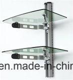 Ausgeglichenes Regal-Glas für Fernsehapparat-Standplatz