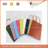 Farbenreicher bester Preis-Berufspackpapier-Einkaufen-Beutel