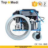 Guangzhou Topemdi Aluminum Economical Electric Wheelchair für Sale