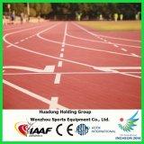 Iaaf a certifié la piste courante préfabriquée par isolation électrique en caoutchouc synthétique