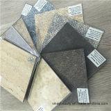 Tuile imperméable à l'eau et résistante à l'usure de plastique de PVC de plancher de feuille
