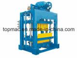 Máquina do bloco da construção Qtj4-40 da engenharia e de fatura de tijolo