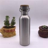 Botella de 750 ml de agua de acero inoxidable