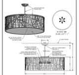 기계설비 호텔 홈 (B50-335)를 위한 아크릴 작풍 천장 빛