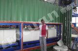 planta modular de alumínio do bloco de gelo do recipiente da capacidade 10t com quarto de gelo